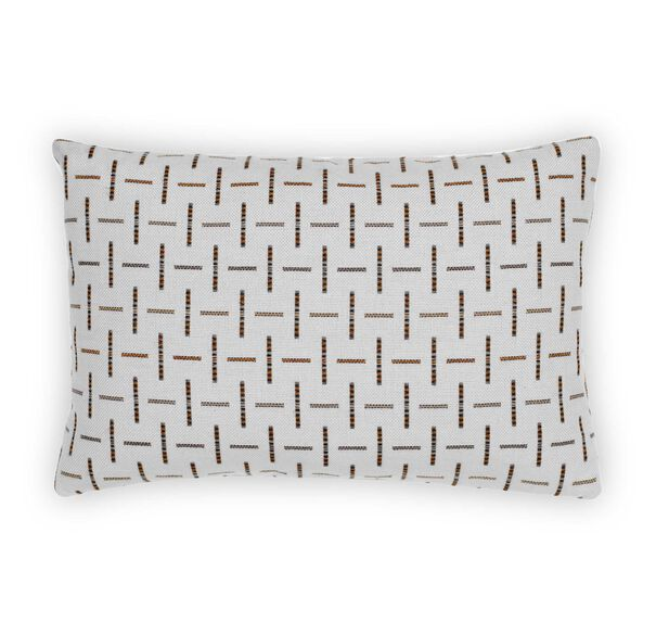 "18"" X 12"" DOWN ACCENT PILLOW, METIZO - NEUTRAL, hi-res"