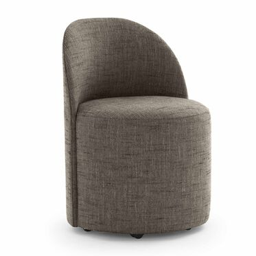 MARGAUX SIDE CHAIR, HOLLINS - ONYX, hi-res