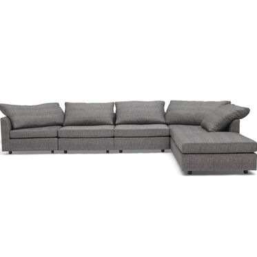 BIG EASY 6-PC SECTIONAL, COSTA - CHARCOAL, hi-res