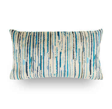 22X12 DOWN PILLOW NO WELT, MELINA - TEAL, hi-res