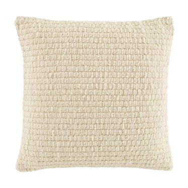 CHUNKY WOOL  PILLOW 20 X 20, , hi-res