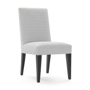 ANTHONY SIDE DINING CHAIR, HADLEY - SILVER, hi-res