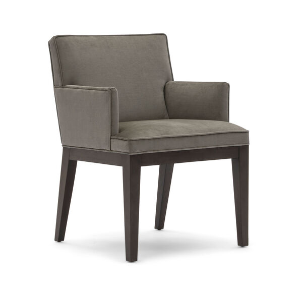 CAMERON ARM DINING CHAIR, PIPPIN - MINK, hi-res