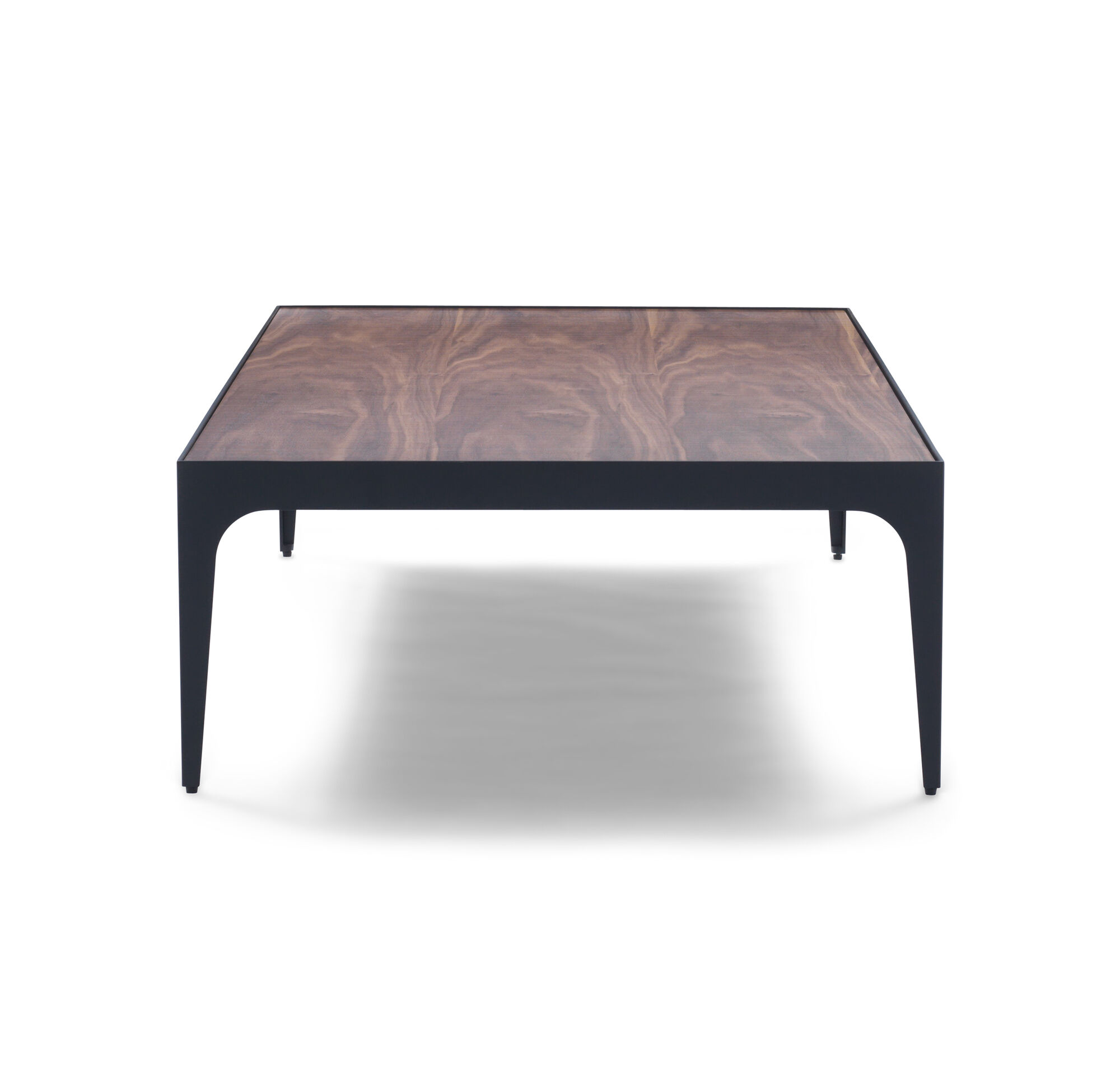 Deon Industrial Style Pattern Metal Rectangle Coffee Table: WAKEFIELD RECTANGLE COCKTAIL TABLE