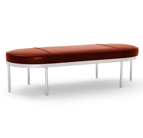 COLBURN LEATHER COCKTAIL OTTOMAN, MONT BLANC - CHIANTI, hi-res