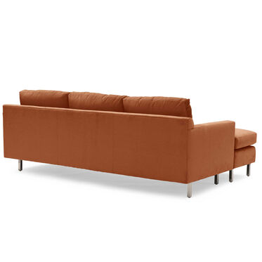 HUNTER STUDIO NO WELT 85 LEFT CHAISE SECTIONAL, PIPPIN - PERSIMMON, hi-res