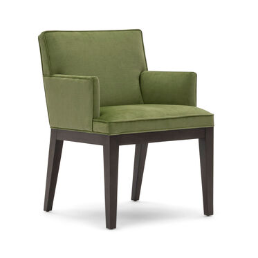 CAMERON ARM DINING CHAIR, PIPPIN - VERDE, hi-res