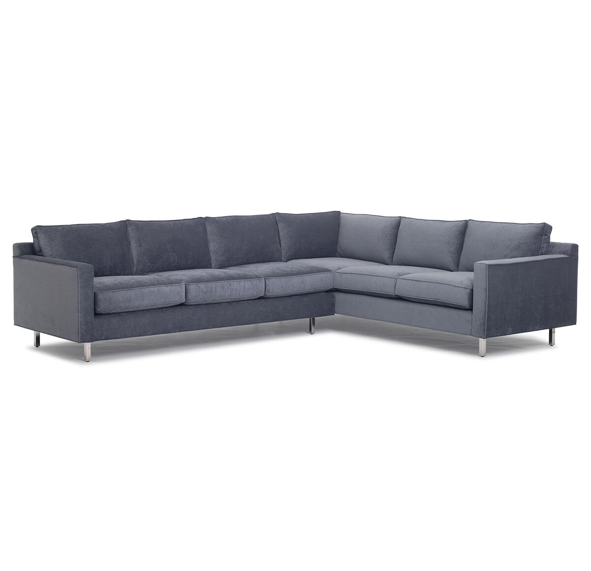 HUNTER STUDIO SECTIONAL SOFA, ELLER   SLATE, Hi Res