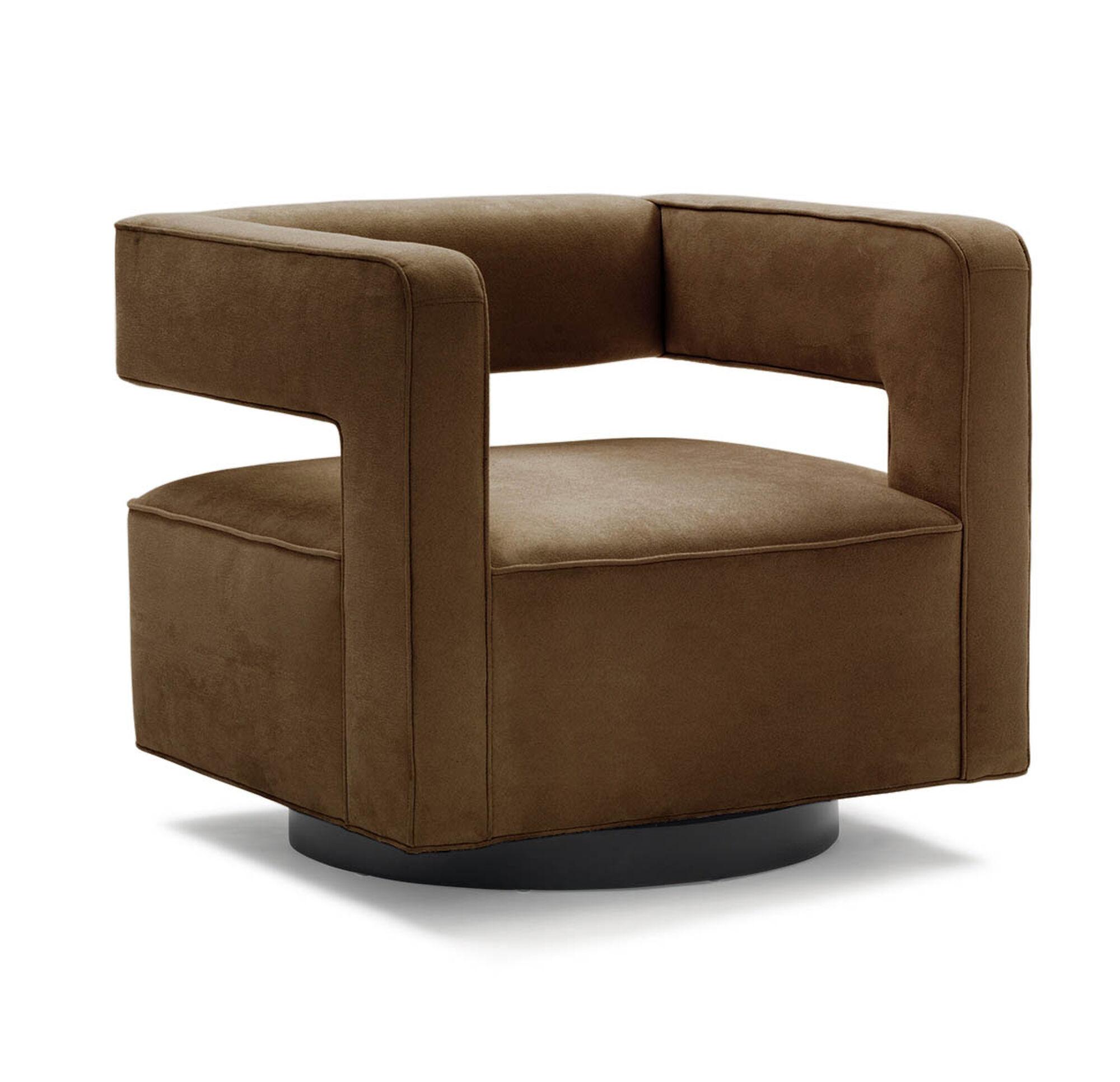 NICO FULL SWIVEL CHAIR  SOFT SUEDE   CHOCOLA  hi resNICO FULL SWIVEL CHAIR. Nico Counter Height Dining Stool. Home Design Ideas