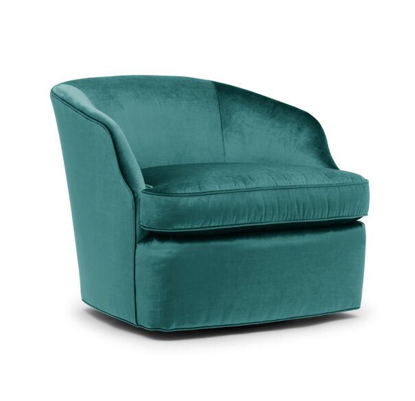 ARIES RETURN SWIVEL CHAIR, EVERSON - JADE, hi-res