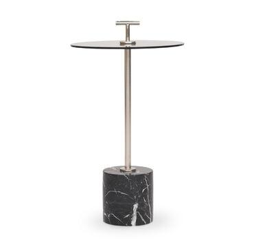 HANDLER PULL-UP SIDE TABLE - BLACK, , hi-res