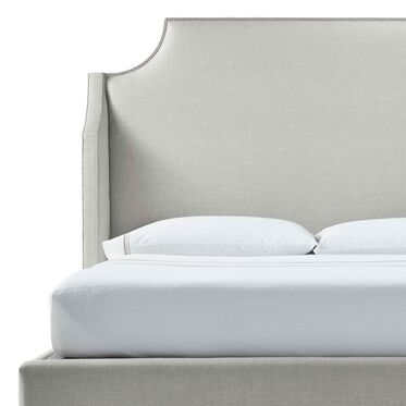 MIRABELLE TALL FLOATING RAIL BED, DUNHAM - SILVER SAND, hi-res