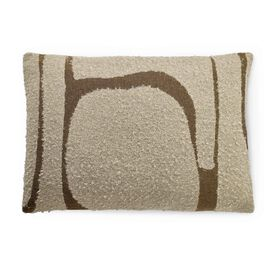 AVANA BROWN PILLOW, , hi-res