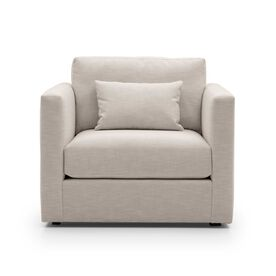 HAYWOOD CHAIR, Performance Textured Linen - PEWTER, hi-res
