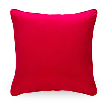 22 IN. SQUARE THROW PILLOW, ELEGANT - MAGENTA, hi-res
