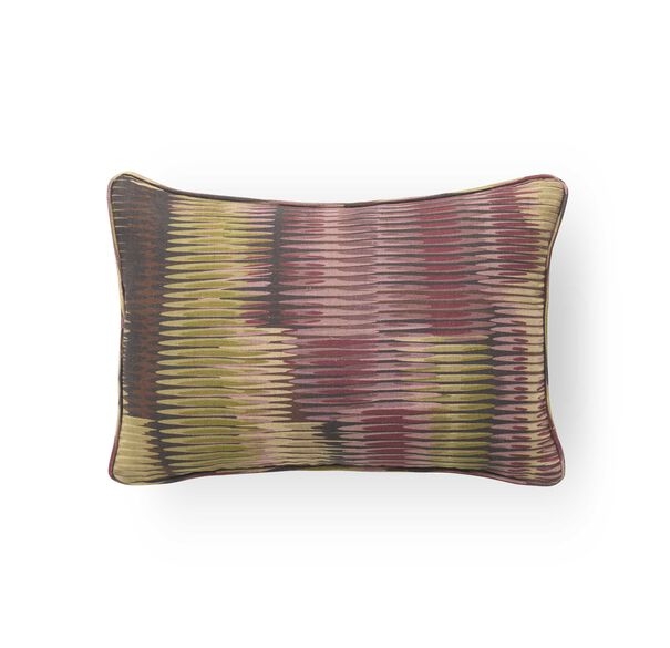18 IN. X 12 IN. DOWN ACCENT PILLOW, LEIGH - AUBERGINE SAGE, hi-res