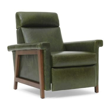 ARLEN LEATHER RECLINER, MONT BLANC - WINTER PINE, hi-res