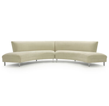 SOFIA 2-PC SECTIONAL SOFA, SOFT SUEDE - STONE, hi-res