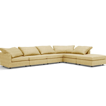 BIG EASY 6-PC SECTIONAL, COSTA - CITRON, hi-res
