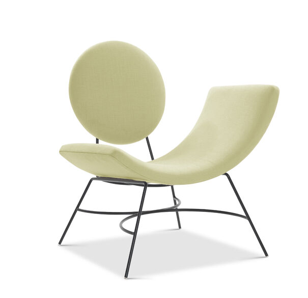 ELROY RIGHT ARM CHAIR, BELGIAN LINEN - LIMO, hi-res
