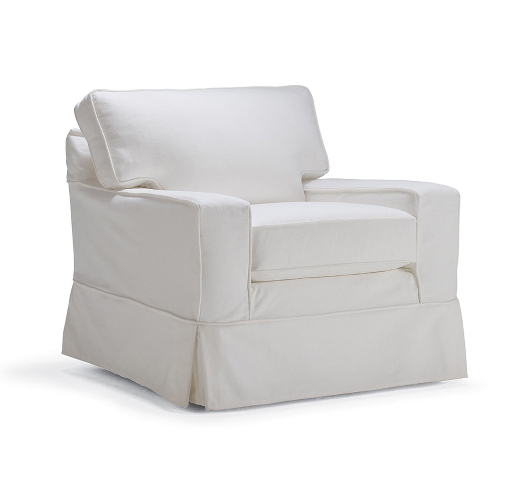 Alex Ii Swivel Glider Chair Slipcover