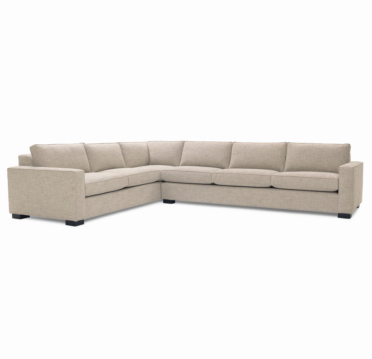 CARSON SECTIONAL SOFA, HOLLINS   FLAX, Hi Res