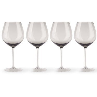 HANDBLOWN RED WINE GLASSES - SET OF 4, , hi-res
