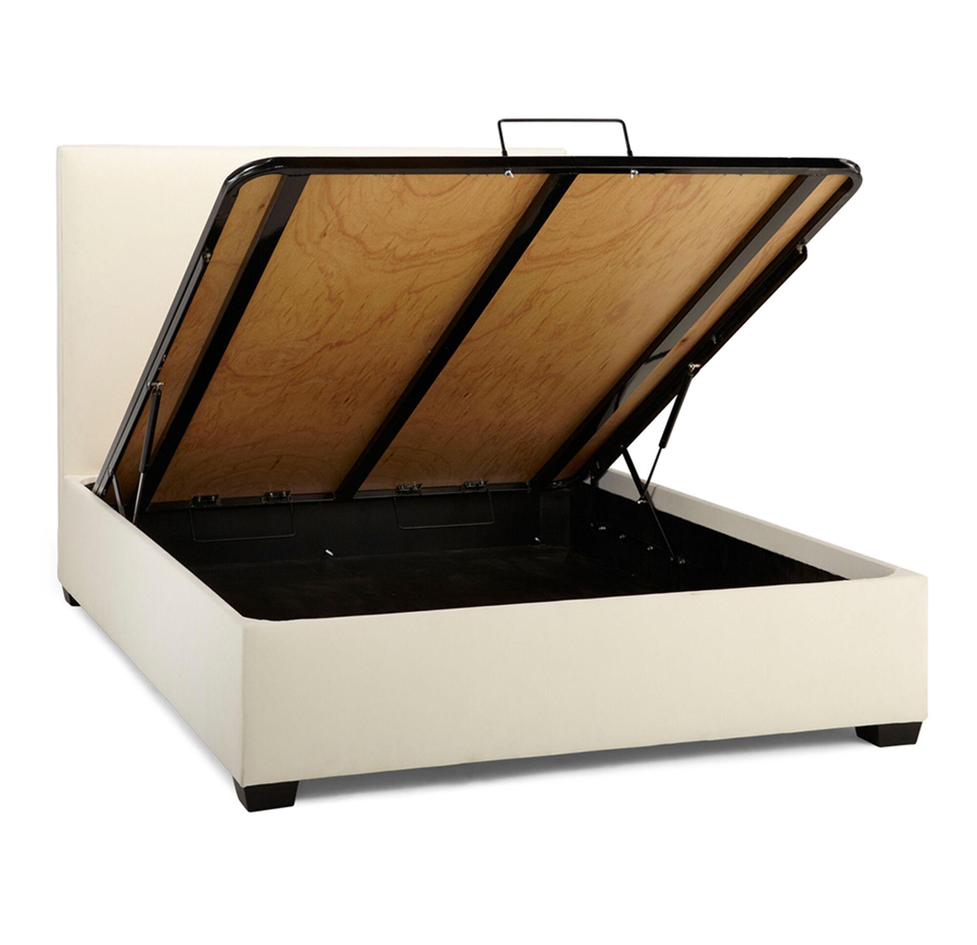 paul queen storage platform bed combo -