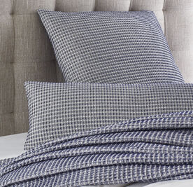 MARLED WAFFLE WEAVE THROW, , hi-res