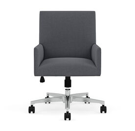 GAGE DESK CHAIR, Performance Textured Pebble Weave - Slate, hi-res