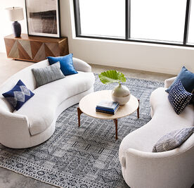 GISELLE SOFA, Boucle - SNOW, hi-res