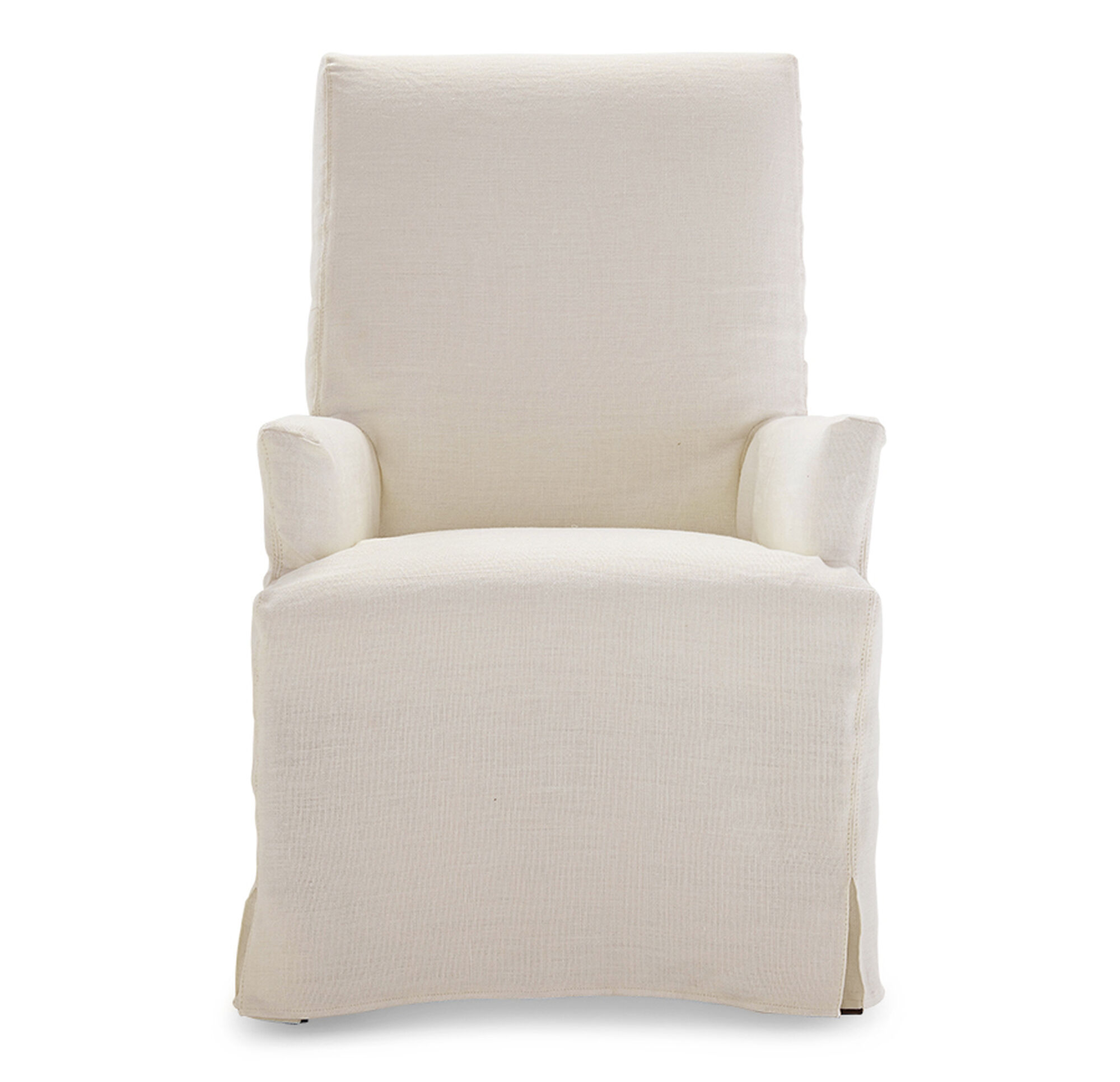 with arms cottndck dining slipcovers drc long enz products for cotton surefit slipcover chairs sage chair duck