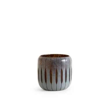 MIDNIGHT BLUE CANDLE HOLDER, , hi-res