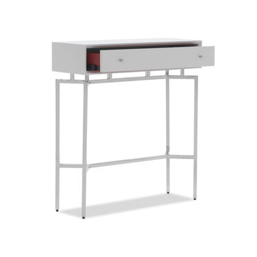 MING CONSOLE - WHITE / PSS, , hi-res