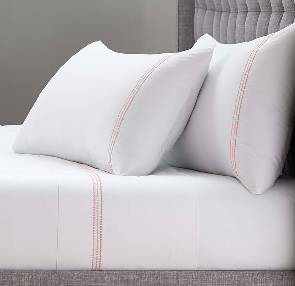 PEARL STITCH 4 PIECE SHEET SET PLAIN, , hi-res