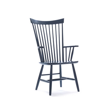 WINLEY ARM DINING CHAIR - INDIGO, , hi-res