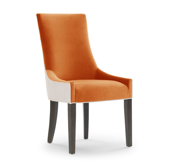 ADA SIDE DINING CHAIR, VIVID - BLOOD ORANGE, hi-res