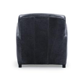 ELLIS LEATHER CHAIR, MONT BLANC - BLUE SMOKE, hi-res