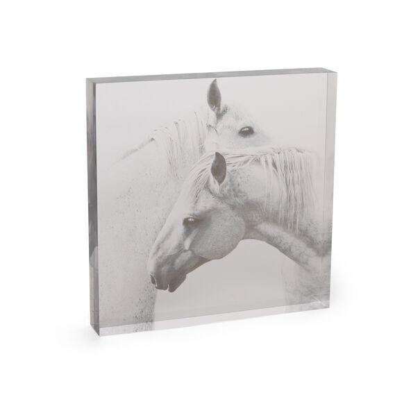 HORSE LARGE ACRYLIC SCULPTURE, , hi-res