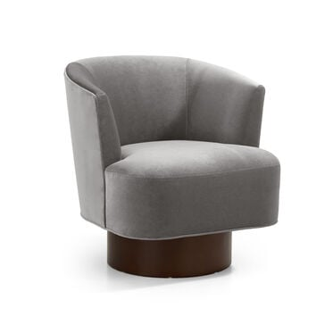 COSTELLO FULL SWIVEL CHAIR, BOULEVARD - LIGHT GREY, hi-res