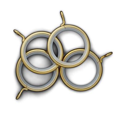 RINGS (SET OF 10) - BRASS, , hi-res