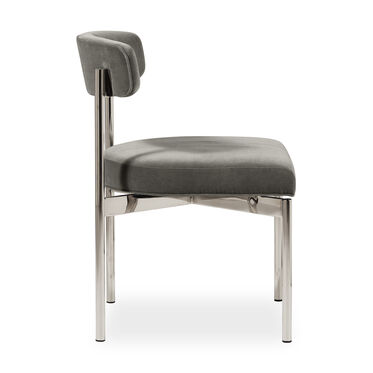 REMY DINING CHAIR - PSS, BOULEVARD - GRAPHITE, hi-res