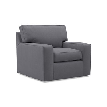 ALEX SWIVEL GLIDER CHAIR, RIDLEY - SLATE, hi-res