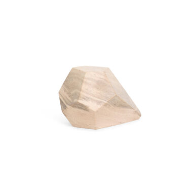 POINTED POLYHEDRON MARBLE OBJECT, , hi-res