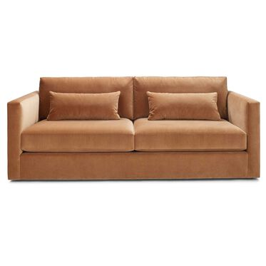HAYWOOD SOFA, Performance Velvet - AUBURN, hi-res