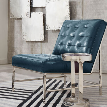 MAJOR LEATHER CHAIR, MONT BLANC - MOUNTAIN SPRING, hi-res