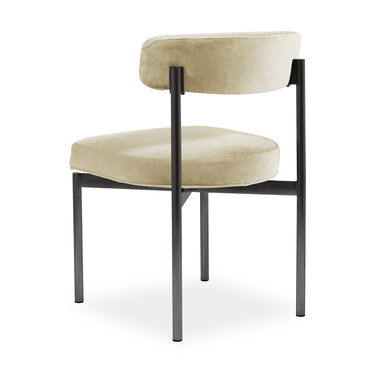 REMY DINING CHAIR - PEWTER, BOULEVARD - ECRU, hi-res