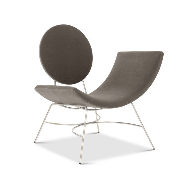 ELROY RIGHT ARM CHAIR, BOULEVARD - GRAPHITE, hi-res