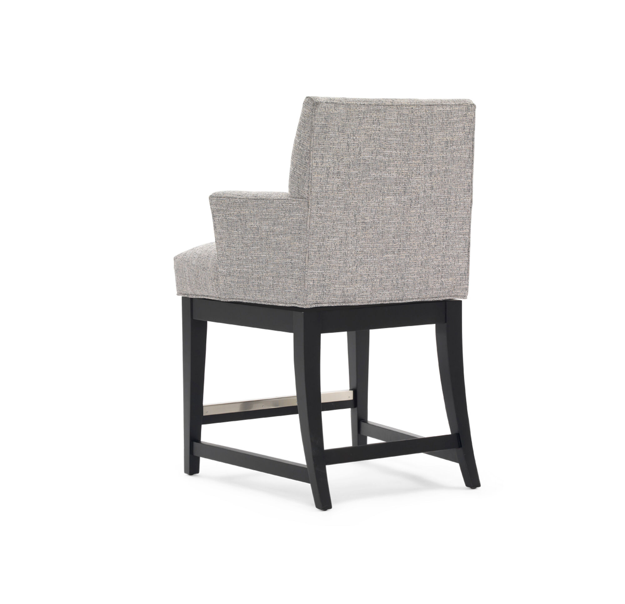 Anthony Return Swivel Counter Stool With Arms