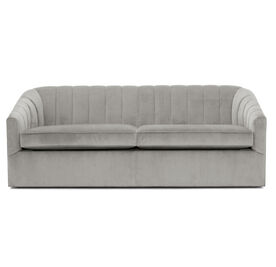 LANDRY CHANNEL TUFTED SLEEPER, Performance Velvet Micro Cord - SILVER, hi-res